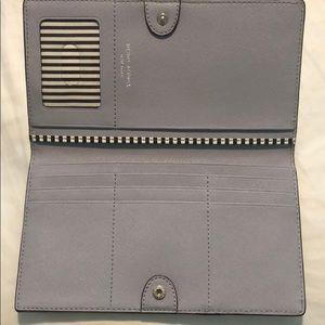 henri bendel Bags - Henri Bendel large lavender wallet